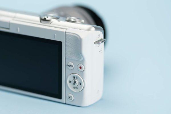 Recensione Canon EOS M200 11