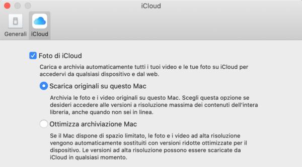 foto iCloud mac