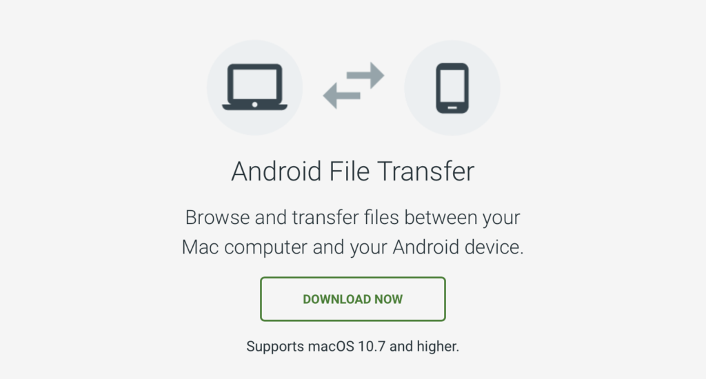 Connettere smartphone Android a Mac
