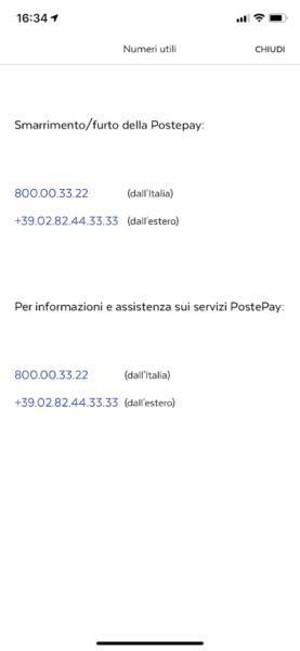 assistenza Poste Italiane