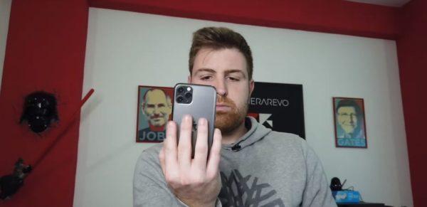 foto iphone impugnatura