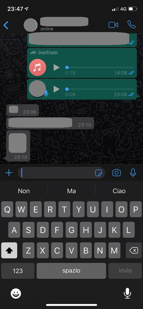 Come attivare la Dark Mode tema scuro su WhatsApp per iPhone 2