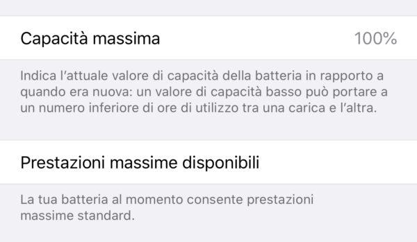 Come verificare lo stato della batteria su iPhone