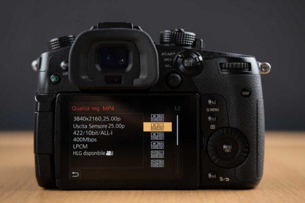 Recensione Panasonic Lumix GH5 11