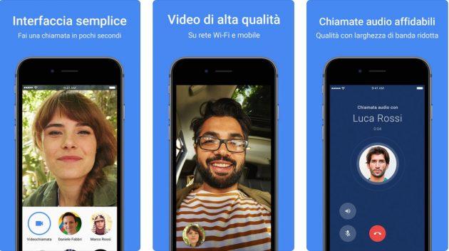 google duo videochiamate