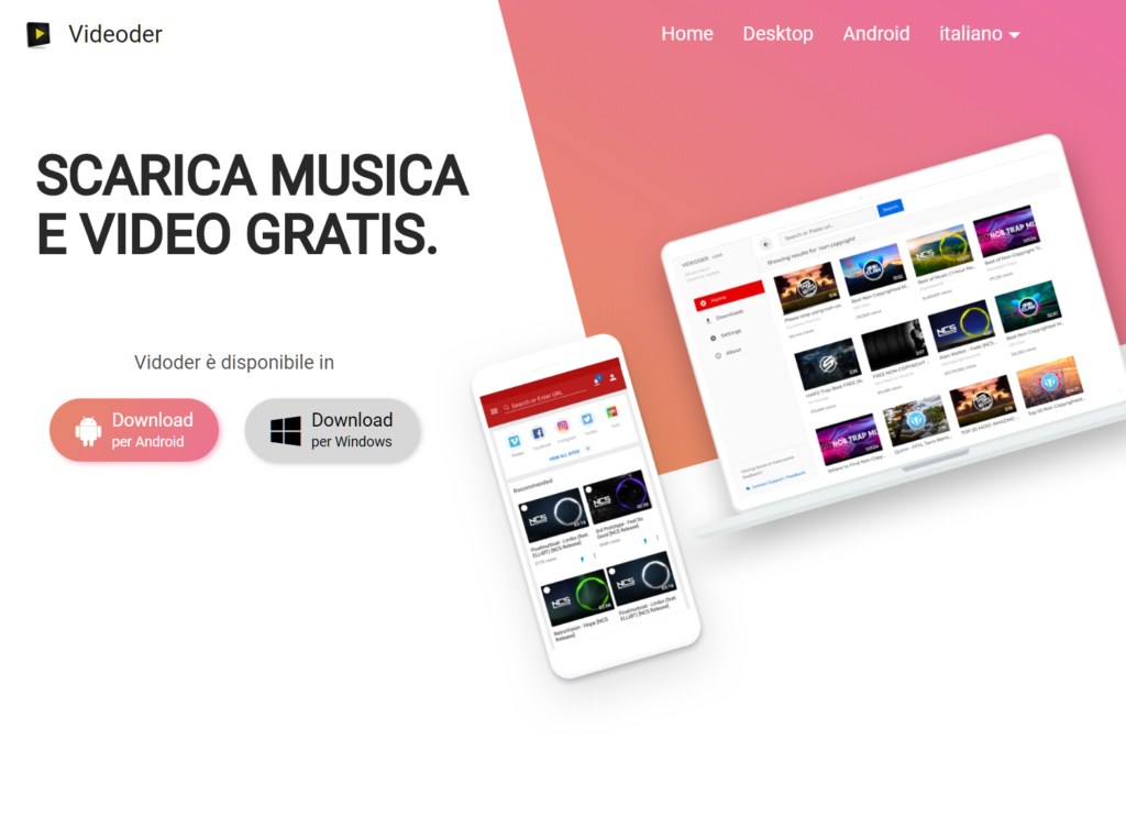 Come scaricare musica da YouTube  Videoder Android