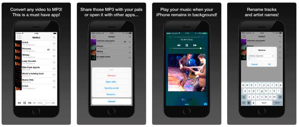 Come scaricare musica da YouTube  MyMp3 iOS iPhone iPad iPadOS