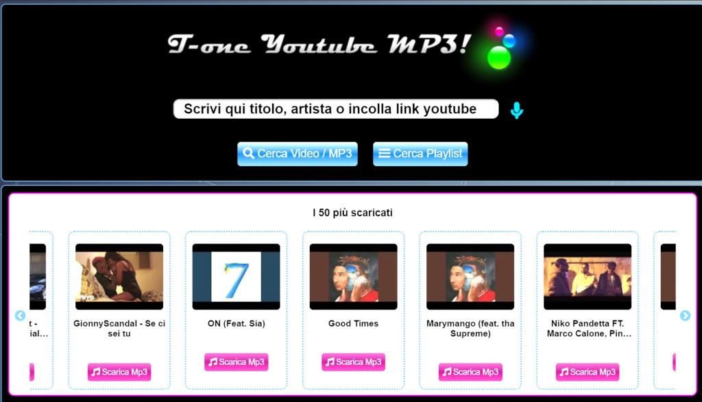 Come scaricare musica da YouTube Tuttotone.best