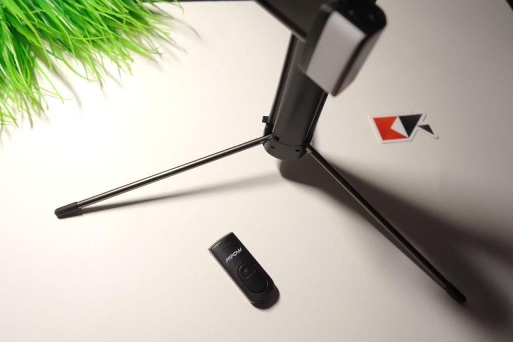 Bastone Selfie + Luce LED MPOW