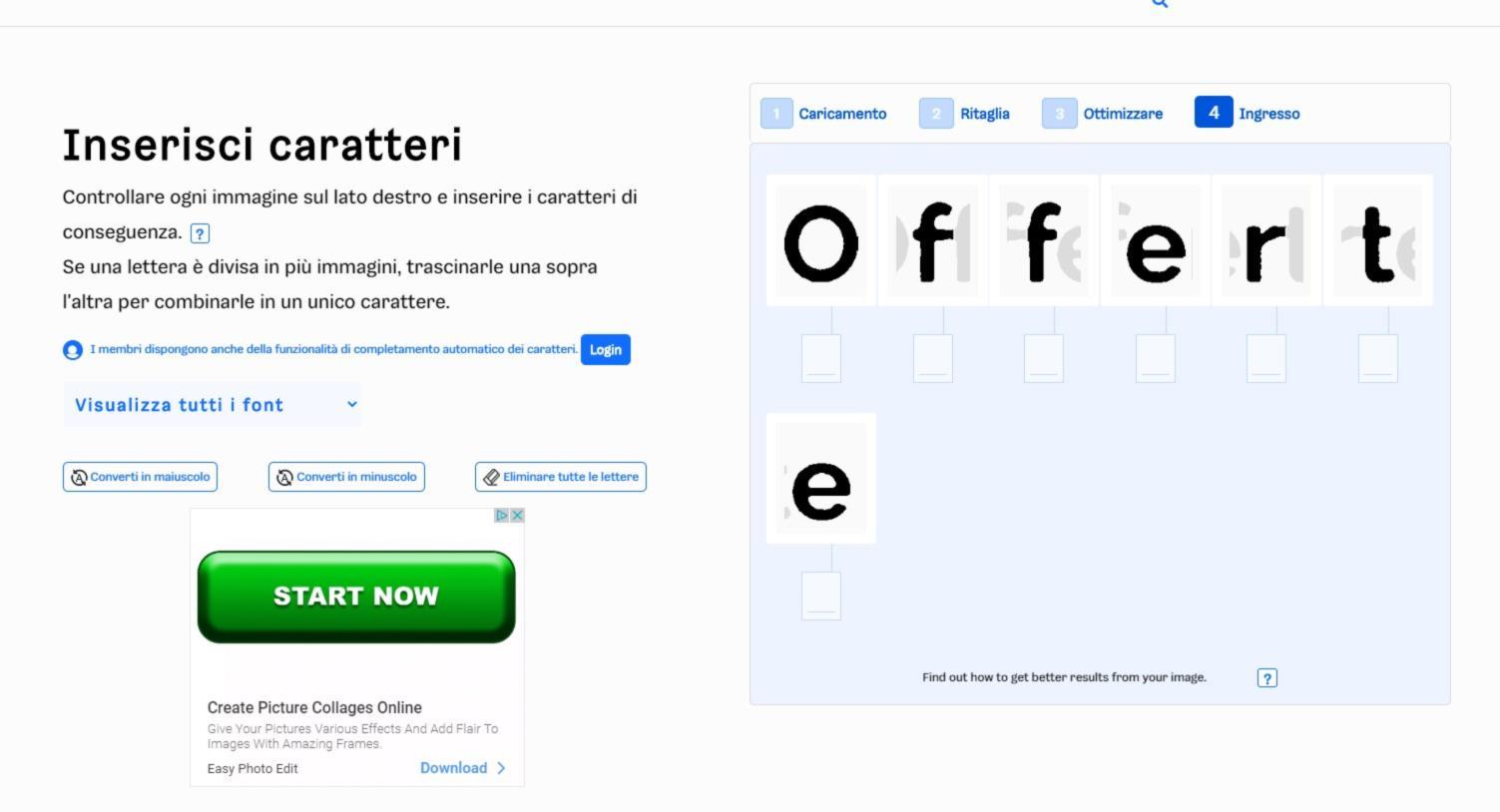 Come identificare e riconoscere un fonta da una immagine 5
