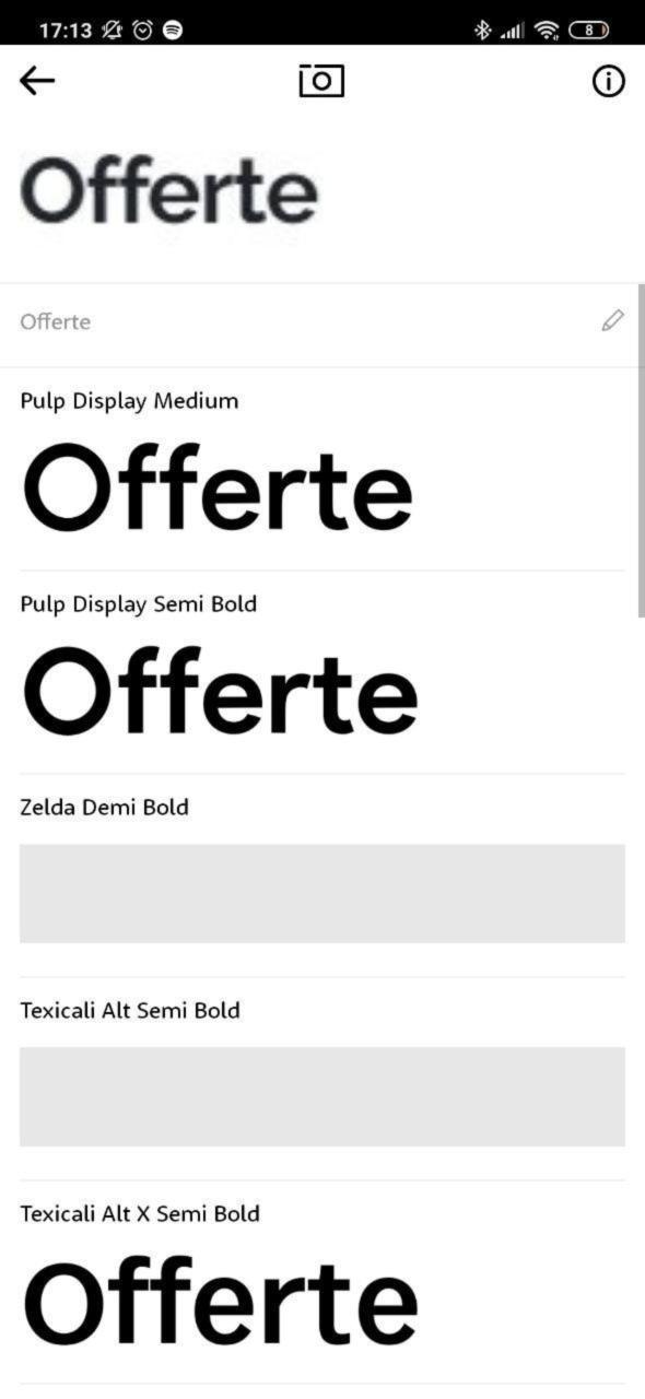 Come identificare e riconoscere un font da una immagine