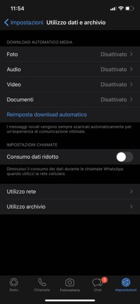 Download automatico WhatsApp