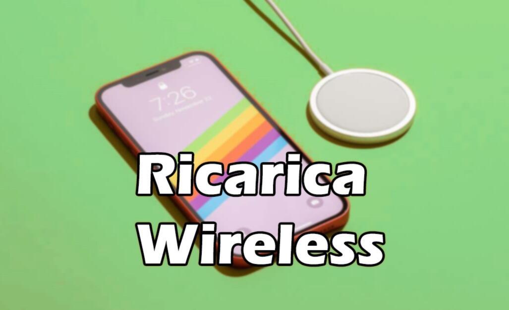 smartphone con ricarica wireless