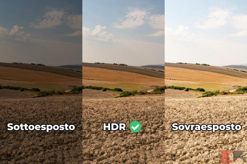 Fotografia HDR - sovrapposizione d'immagini