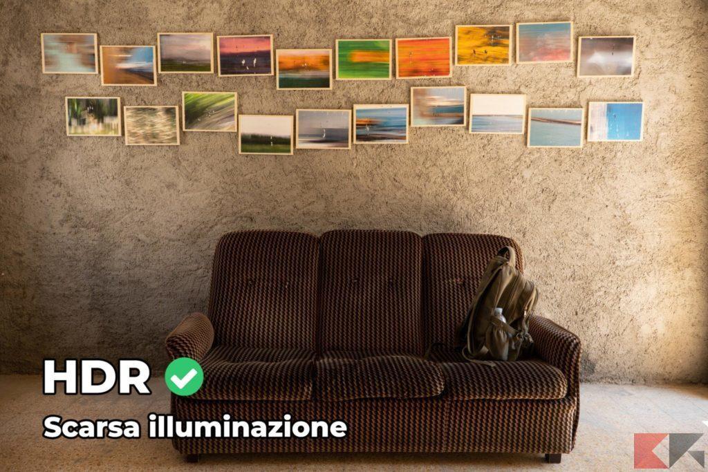 Fotografia HDR - scarsa illuminazione