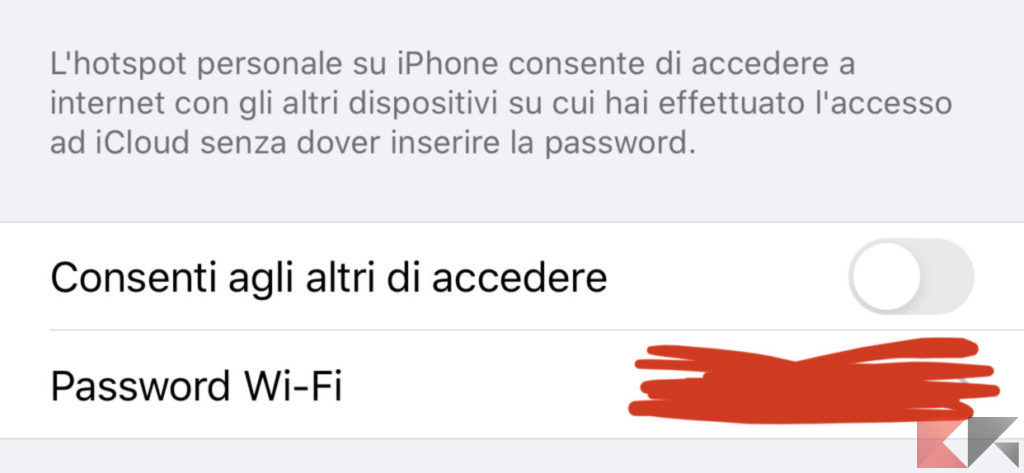 Come usare iPhone come modem 4