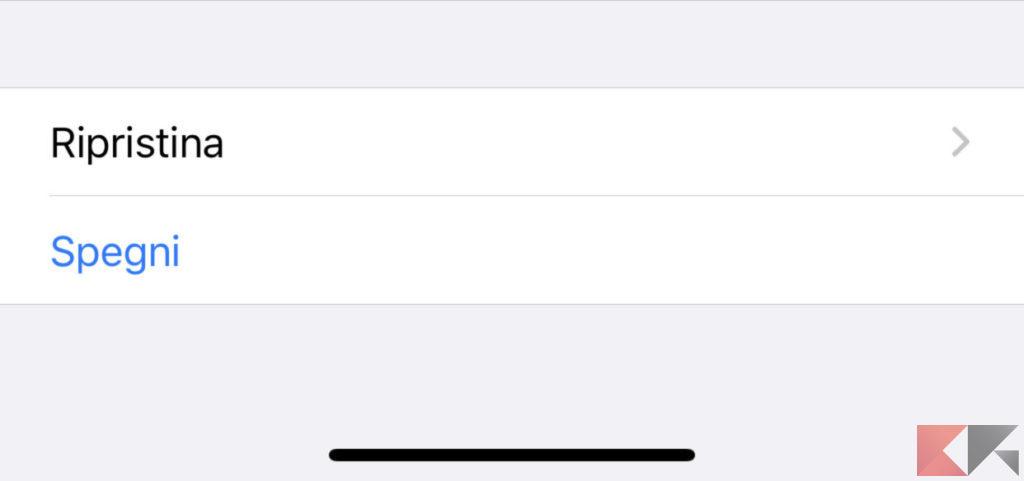 Come spegnere iPhone 11, 11 Pro e 11 Pro Max