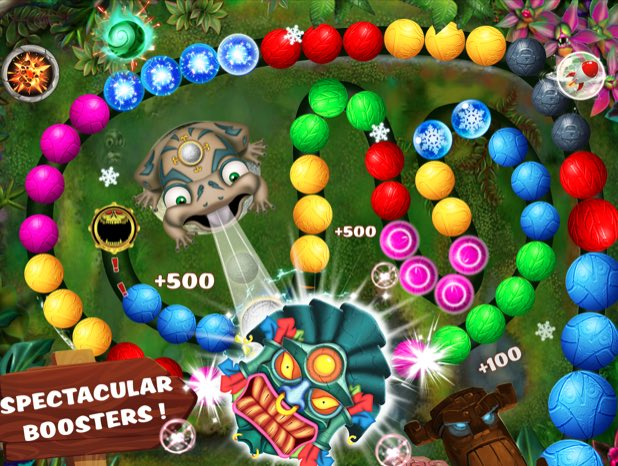Zumba Deluxe - Marble Shooter