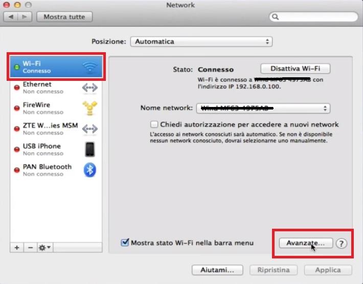 rete network macOS