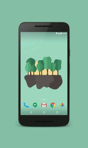 minimal live wallpaper android