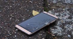 schermo rotto android