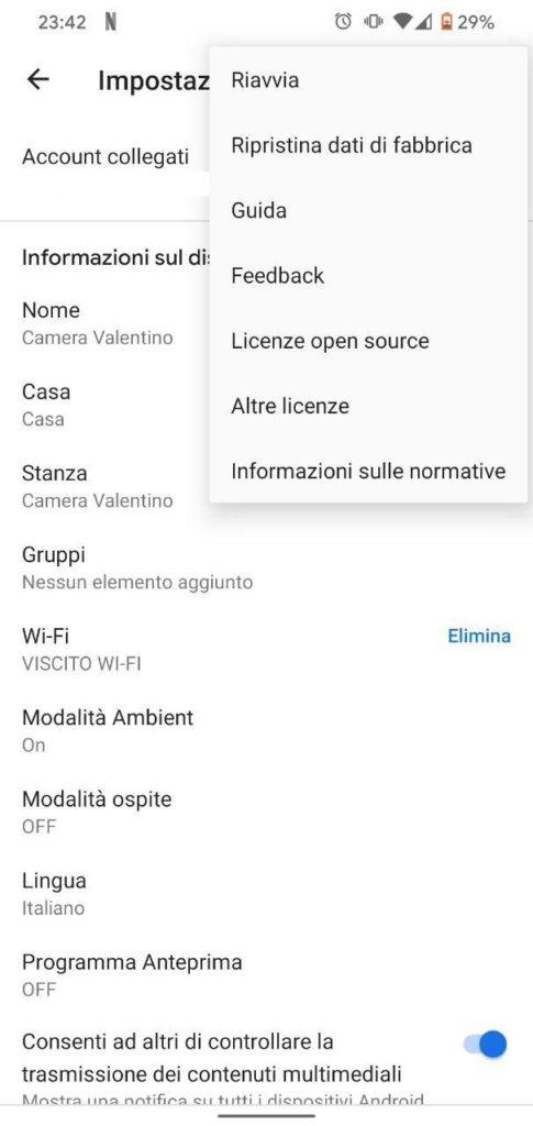Chromecast a scatti come risolvere 3