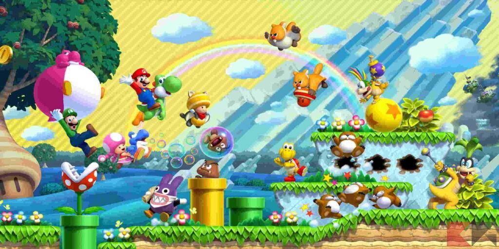Giochi co-op Nintendo Switch - New Super Mario Bros. U Deluxe