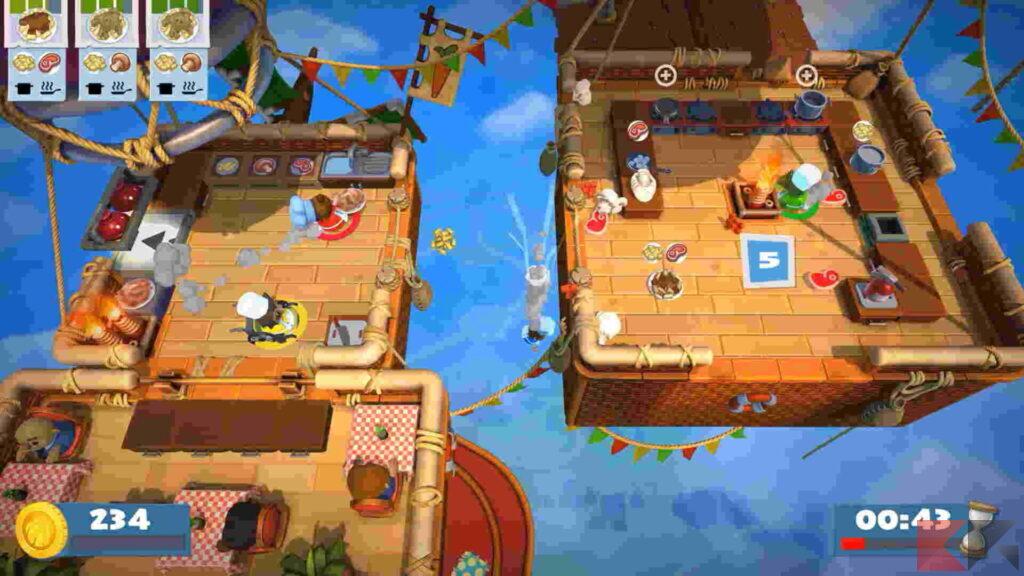 Giochi co-op Nintendo Switch - Overcooked 2