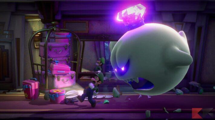 Giochi co-op Nintendo Switch - Luigi's Mansion 3