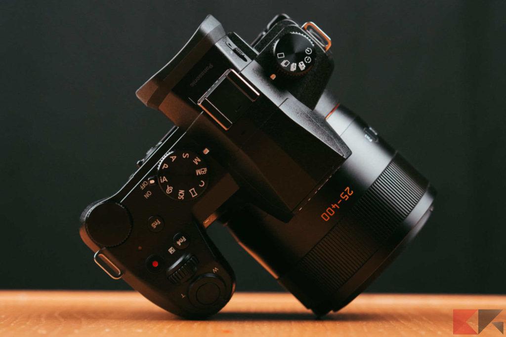 Panasonic FZ1000 II - top