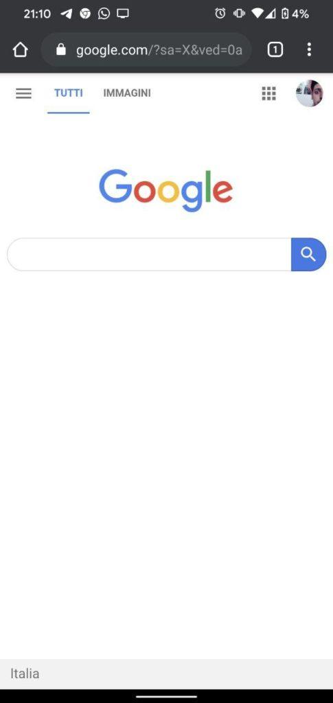 Ricerca tramite immagine con Google trovare foto simili