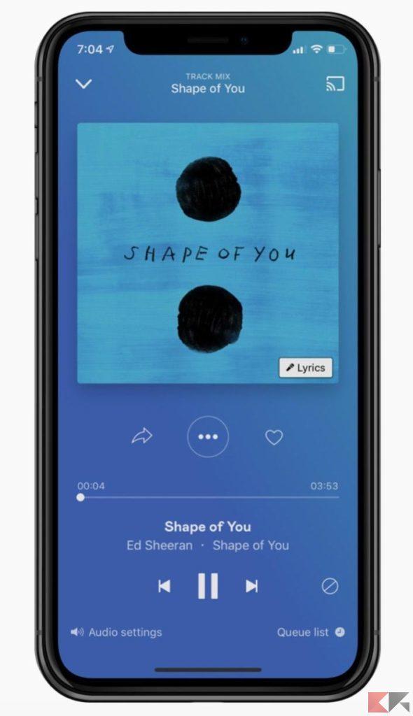 mobile per Android e iOS