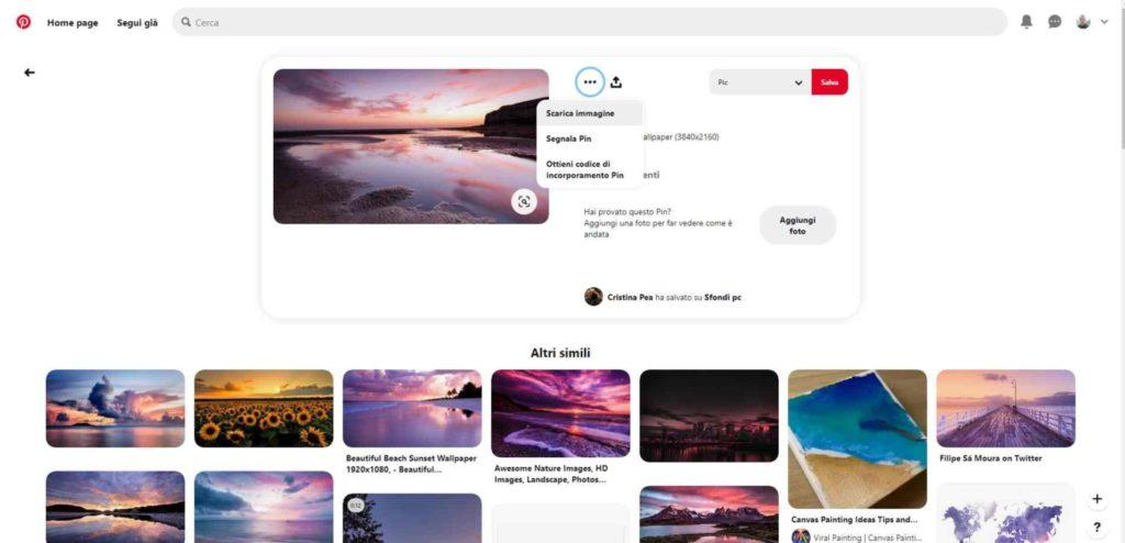 Sfondi PC 4K Pinterest