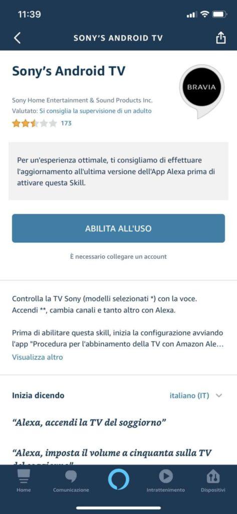 Skill Alexa Smart TV