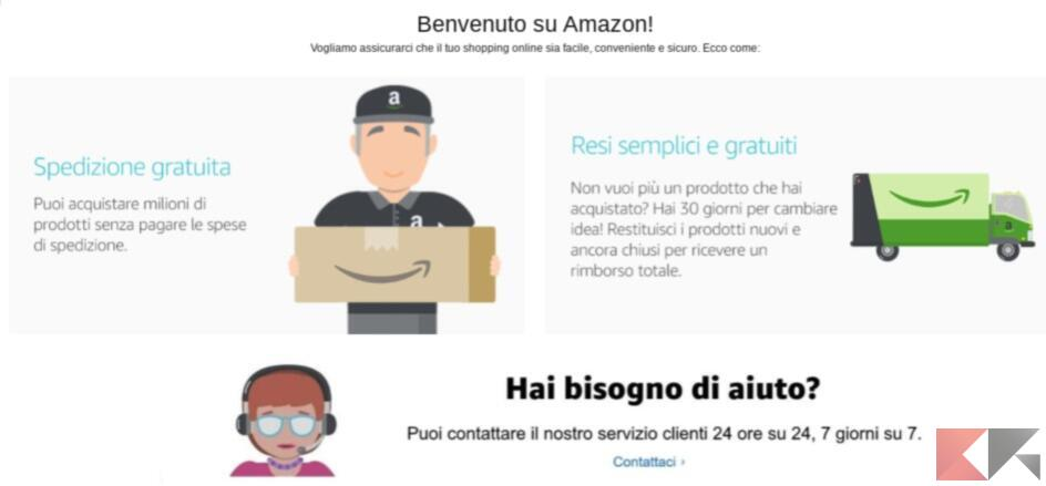 come fare reclamo su amazon