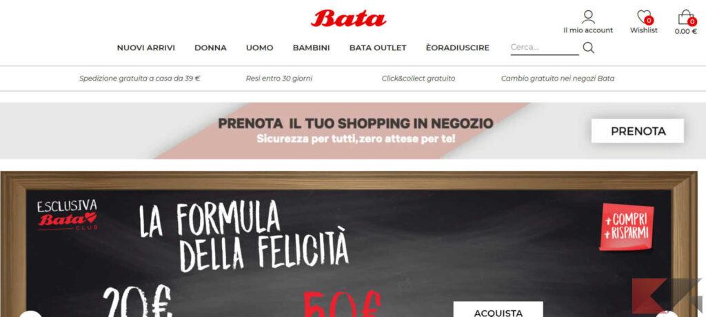 bata shop online
