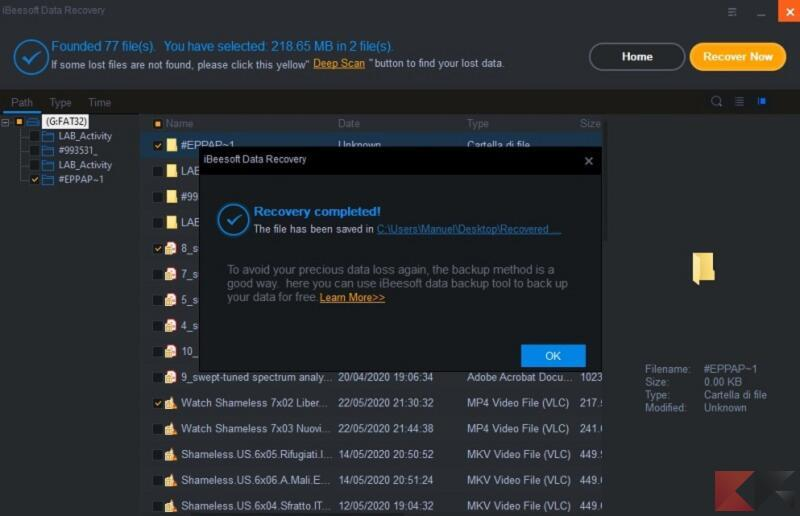iBeesoft Data Recovery 5