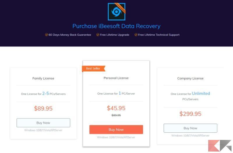 iBeesoft Data Recovery 6
