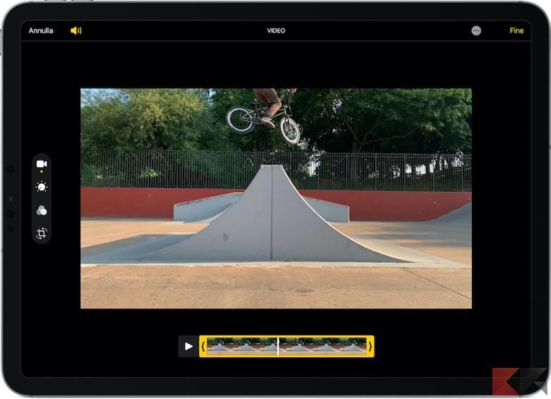 modificare video iPad