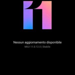 Interfaccia Xiaomi Mi 10