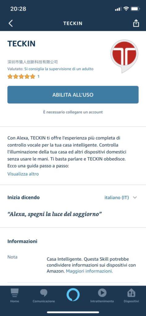 presa Smart Alexa