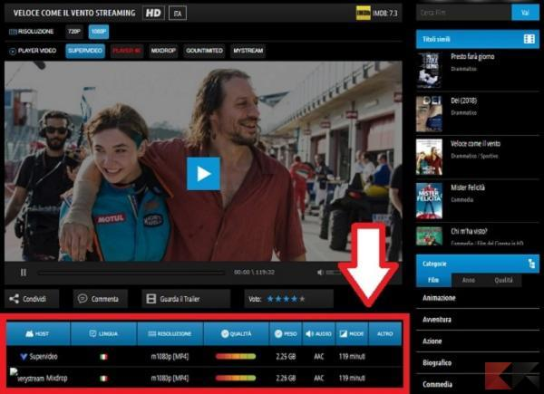 scaricare film streaming