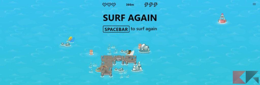 gioco surf edge