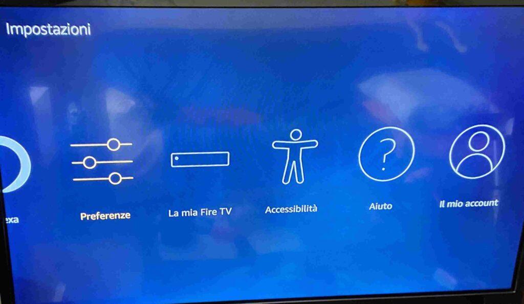 Altre impostazioni Fire TV Stick