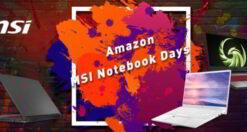Amazon-MSI-Notebook-Days
