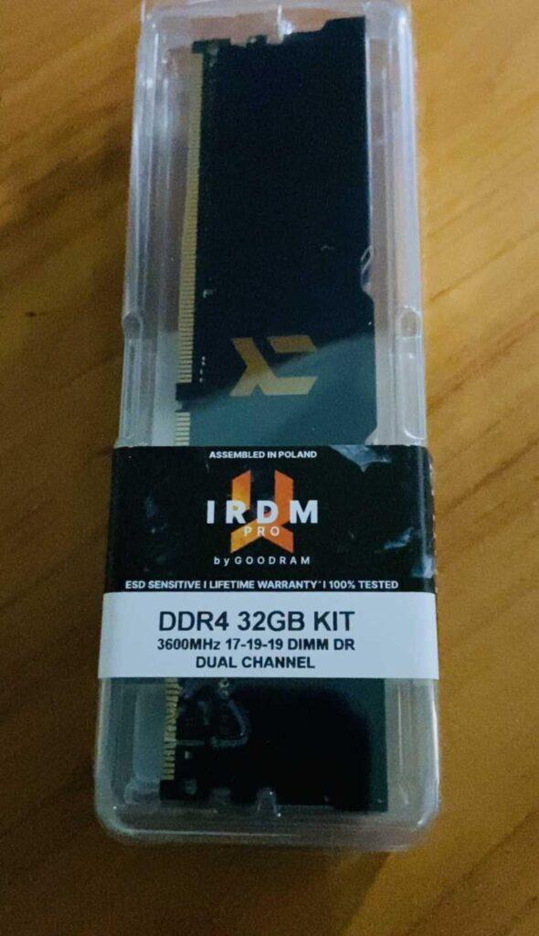 Confezione IRDM DDR4