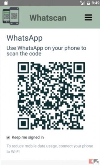 Whatscan QR code