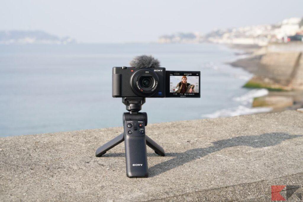 Sony ZV 1 fotocamera compatta