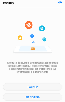 come fare backup huawei