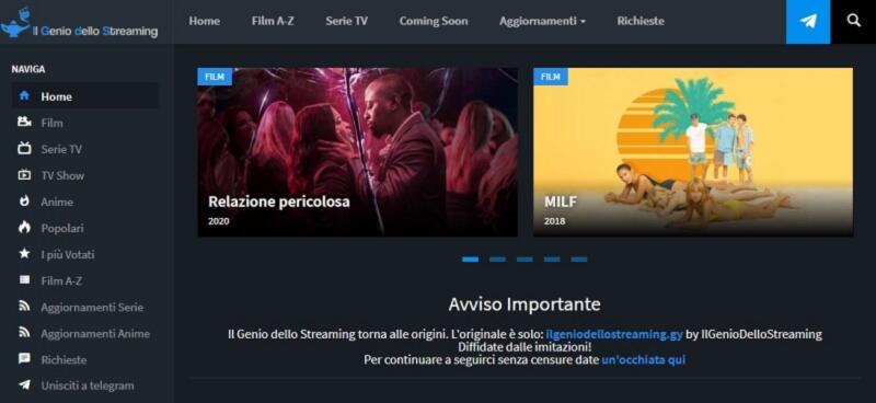 il genio dello streaming